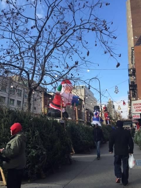 Pierce Turner photo of santa on 14th street 2015